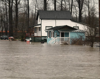 Homeowners insurance does not cover damage or losses from a flood